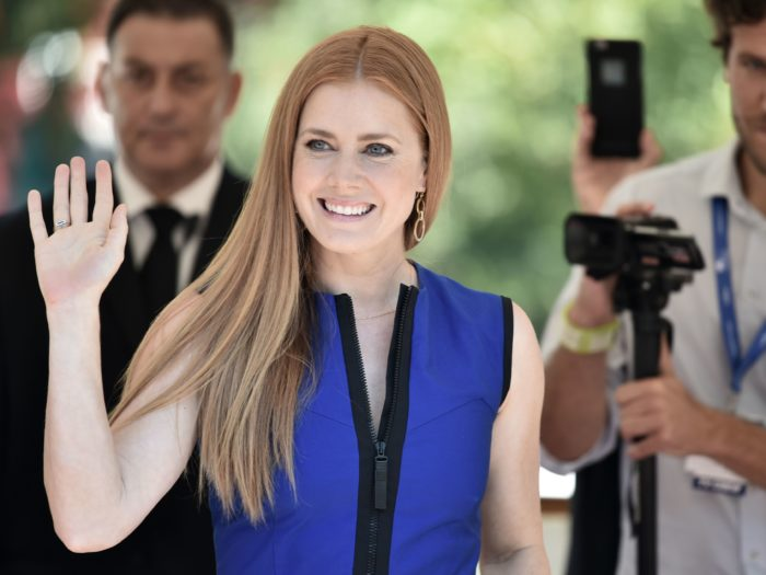 Amy Adams just took her first-ever Instagram selfie, and it's picture-perfect