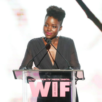 Harvey Weinstein is disputing Lupita Nyong'o's account, and Twitter's got ideas about why he's only coming for her