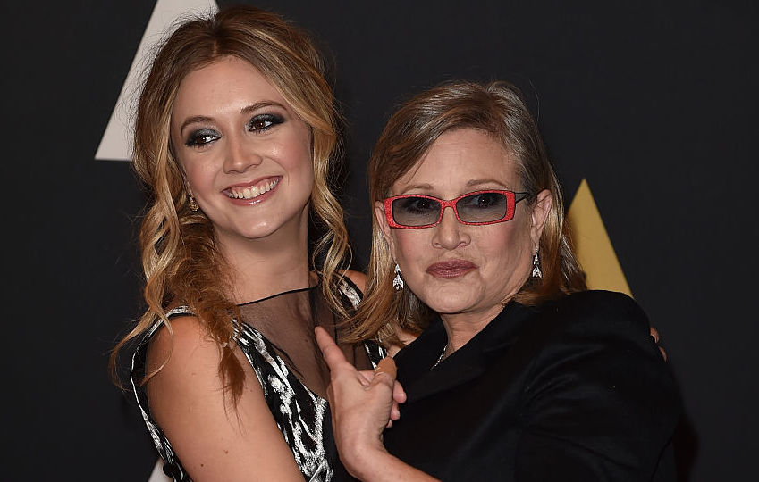 Billie Lourd honored Carrie Fisher's birthday with the sweetest tribute
