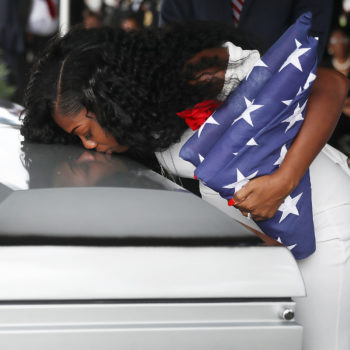 "Myeshia Johnson, the widow of the soldier killed in Niger, confirmed Donald Trump said, ""He knew what he signed up for"""