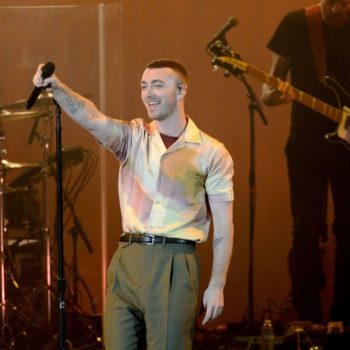 "Sam Smith opened up about his gender identity, saying he ""feels just as much woman as I am man"""