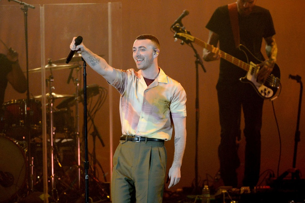 """Sam Smith opened up about his gender identity, saying he """"feels just as much woman as I am man"""""""
