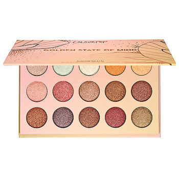 If you hate matte shadows, ColourPop is releasing an all-shimmer palette just for you
