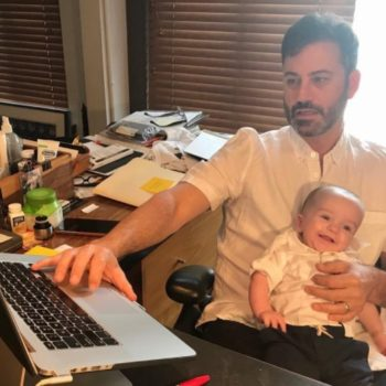 Jimmy Kimmel shared a health update on his son