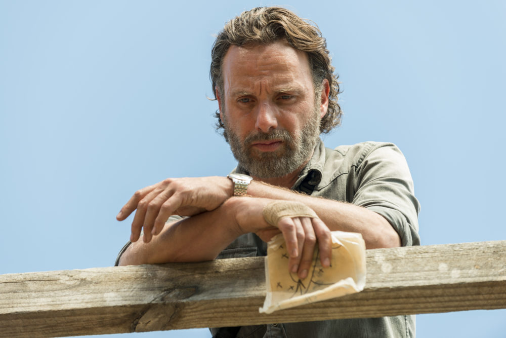 "Twitter had LOTS of feelings about the different Rick timelines in the ""Walking Dead"" premiere"