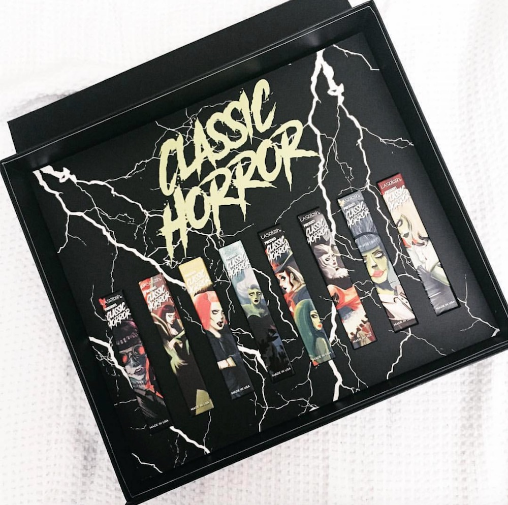 These horror movie-inspired lipsticks launched just in time for our Halloween needs