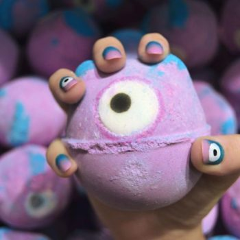 Lush's fan favorite bath bombs are inspiring bewitching nail art