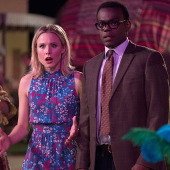 "This 10-minute gag reel from ""The Good Place"" is the best forking thing you'll see today"