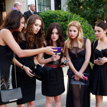 "This ""Pretty Little Liars"" star just got engaged, and here's to hoping A won't crash the wedding"