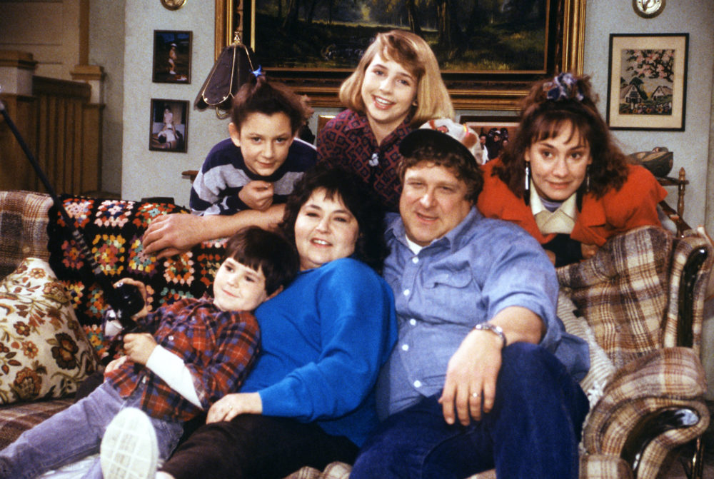 "ABC just dropped the first official ""Roseanne"" picture, and that sound you hear is us screaming"