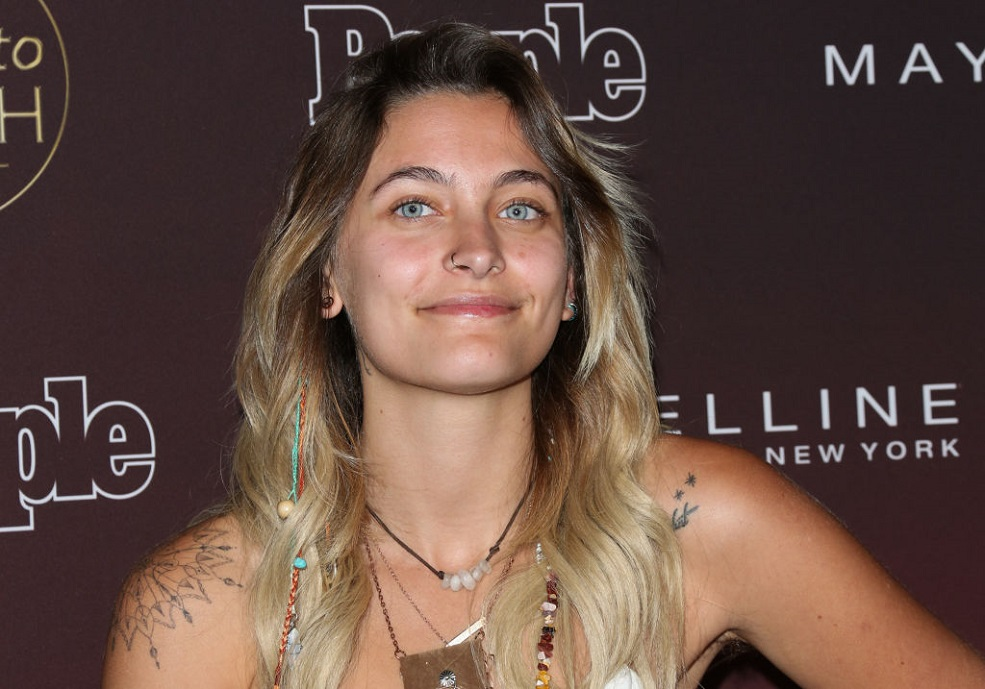 Paris Jackson sang on stage, and apparently good vocals run in the family