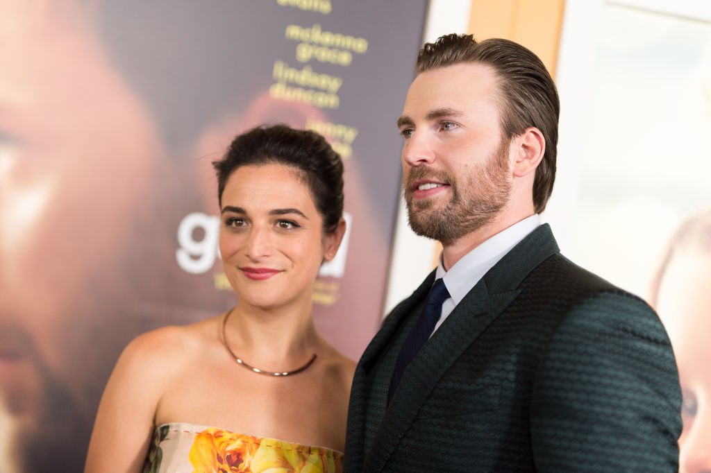 Exes Chris Evans and Jenny Slate exchanged flirty tweets, and the internet is all about it
