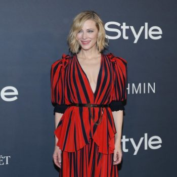 "Cate Blanchett defended women's right to dress sexy, saying, ""It doesn't mean we want to f**k you"""
