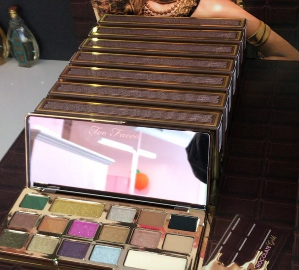 Too Faced's Chocolate Gold Bar palette launches soon, so get your holiday wish list ready