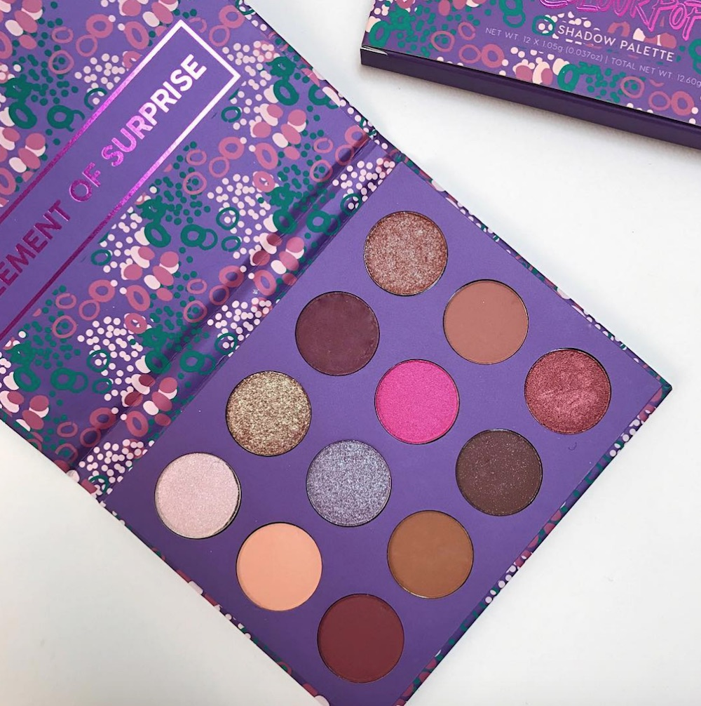 ColourPop is dropping a new eyeshadow palette, and the shades will surprise you