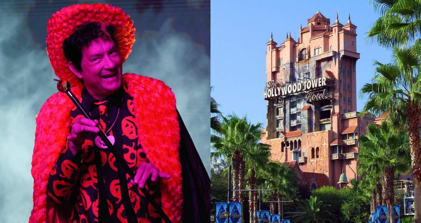 "The David S. Pumpkin ""SNL"" sketch is loosely based on Disney's Tower of Terror"