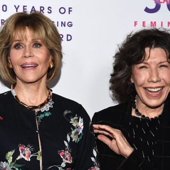Watch Jane Fonda and Lily Tomlin take on sexual harassment in the restaurant industry in this important video