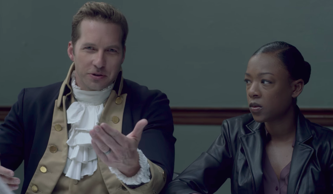If you've ever wanted to see Ryan Hansen solve murders with Samira Wiley, then we have some good news for you