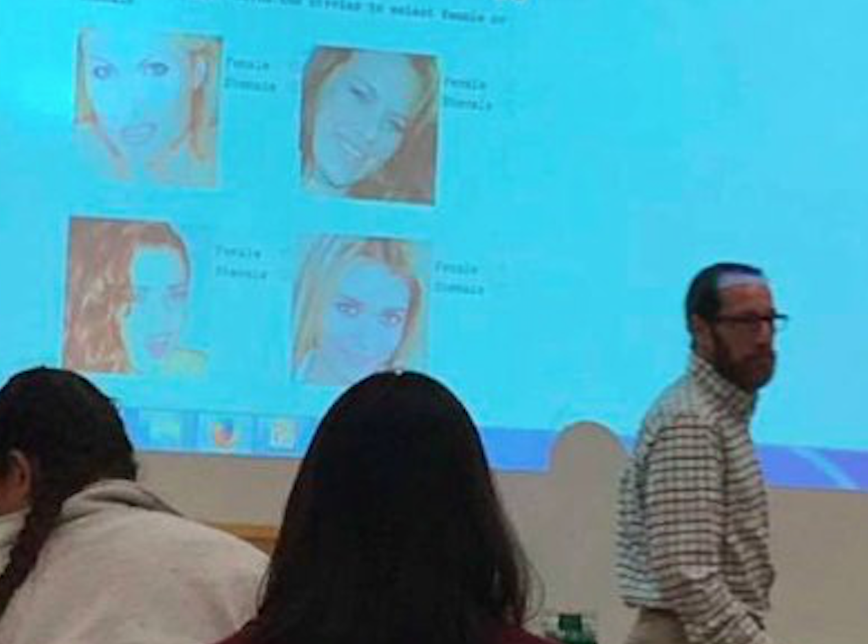 "A college professor gave a quiz titled ""Female or Shemale: Can You Tell?"" — and yes, we're serious"