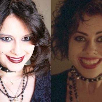 "Here's a Nancy from ""The Craft"" Halloween makeup tutorial for you and your coven"