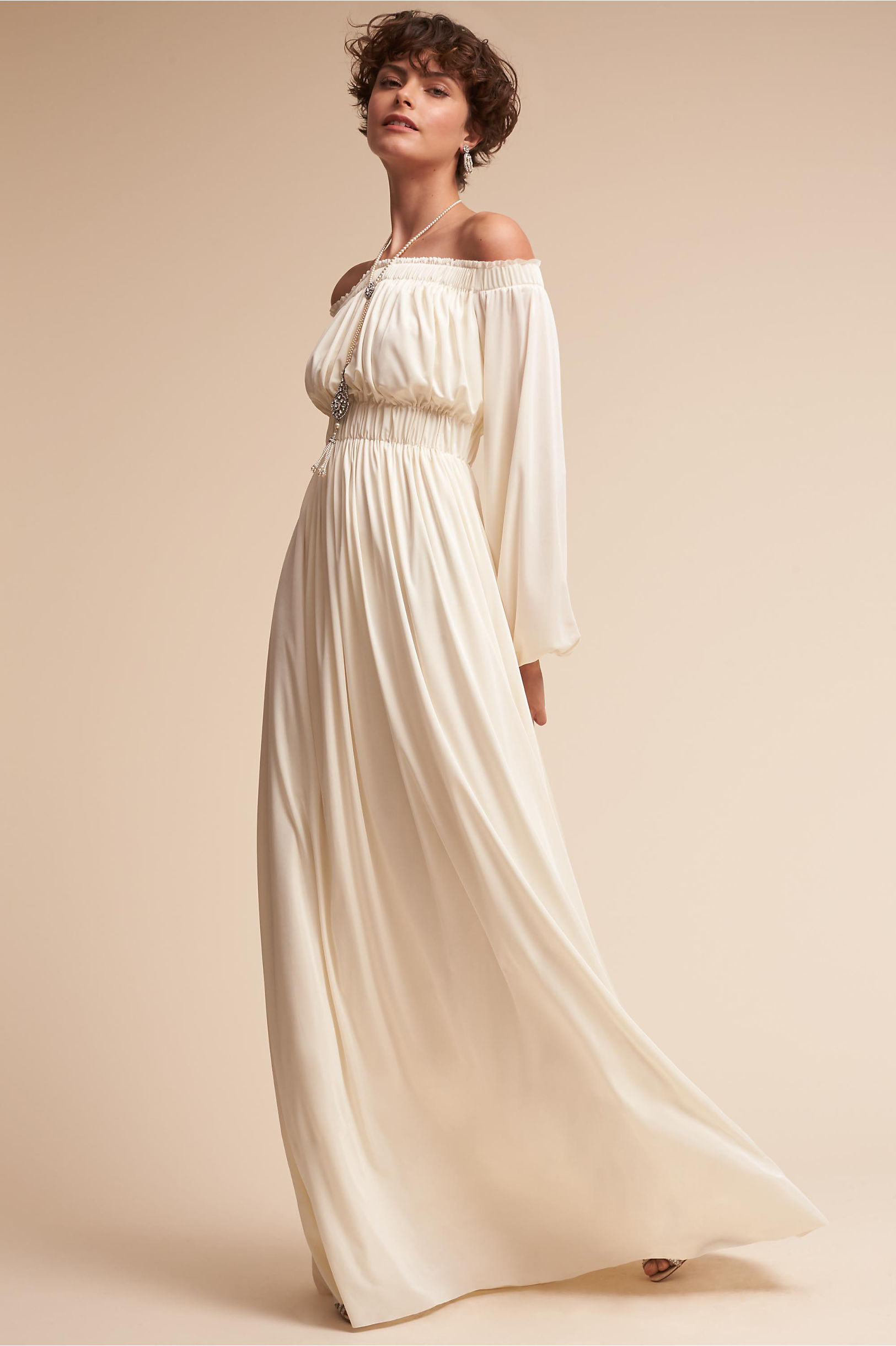 11offtheshoulder Wedding Dress: 1970 Dresses Vintage Weddings At Reisefeber.org