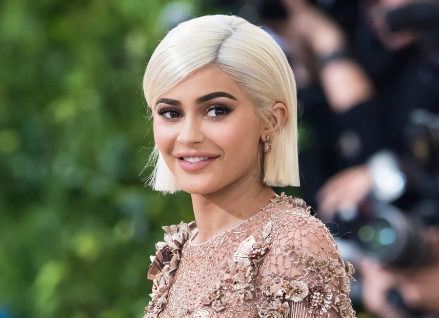 Kylie Jenner's angelic Halloween costume just made white eyelashes a beauty trend