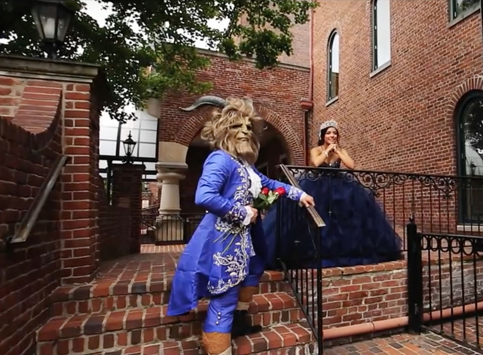 This Beauty And The Beast Quinceañera Would Make Belle Proud