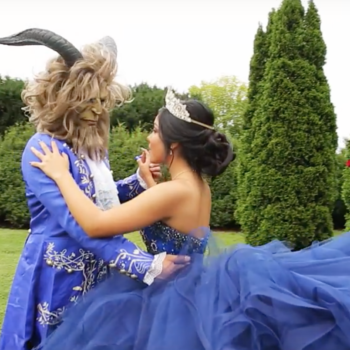 "This ""Beauty and the Beast"" quinceañera would make Belle proud"