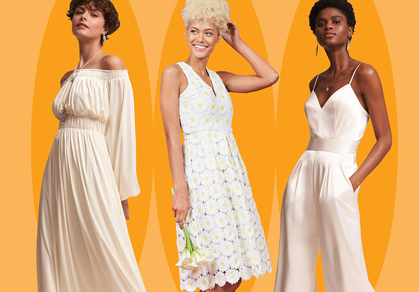 '70s-inspired wedding gowns for the bride who's just plain groovy