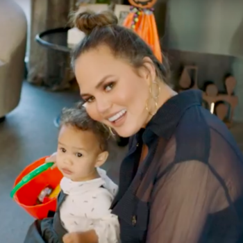 """Chrissy Teigen's """"73 Questions"""" takes us inside her Halloween-ready home, and this is one boo-tiful pad"""