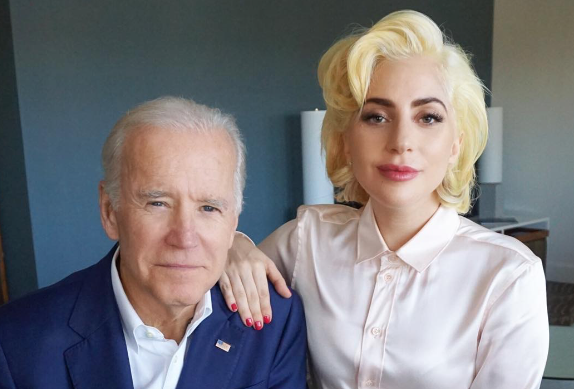 "Lady Gaga and Joe Biden released a video to announce their new sexual assault prevention campaign, ""It's On Us"""
