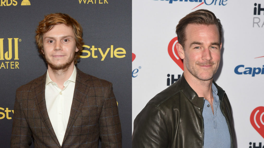 Stop what you're doing — Evan Peters and James Van Der Beek are starring in Ryan Murphy's new show