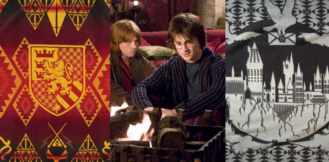 This new collection of Harry Potter blankets will make any home feel like Hogwarts