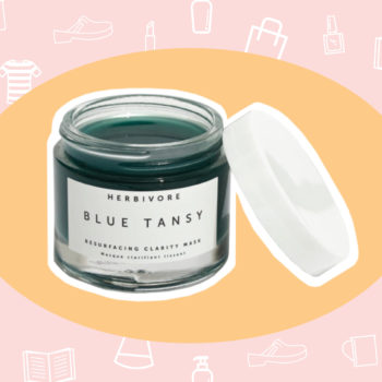 WANT/NEED: A fancy blue mask to de-stress your face, and more stuff you want to buy