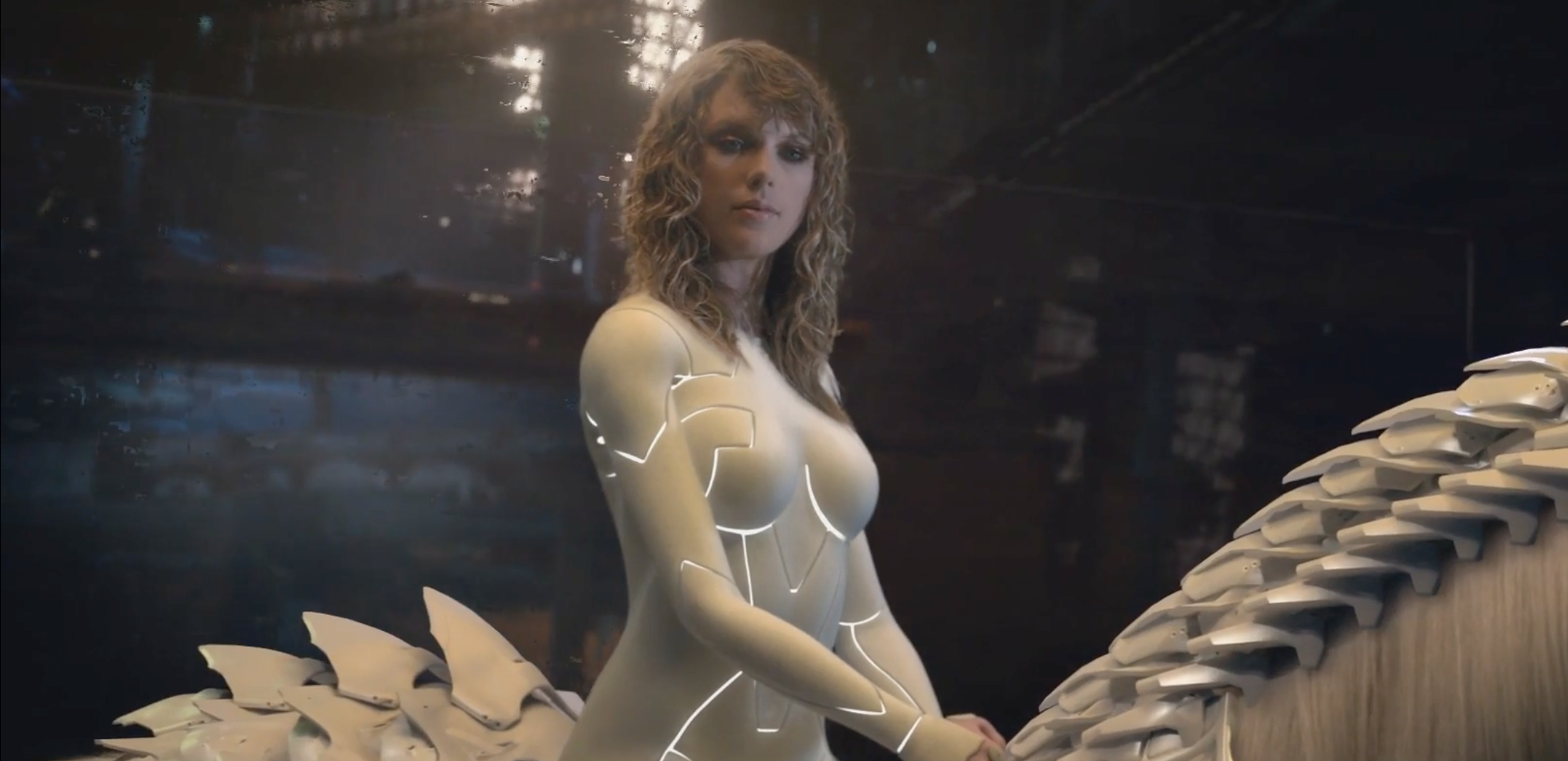 "Taylor Swift just responded to your concerns about her naked suit in the ""...Ready For It?"" music video"