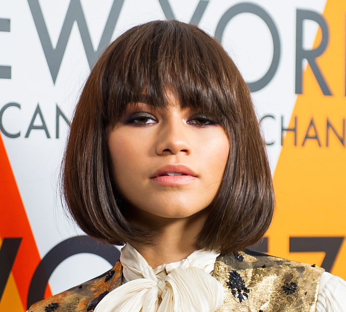 Zendaya wore a top that looks like it's straight out of Salem in the 1600s