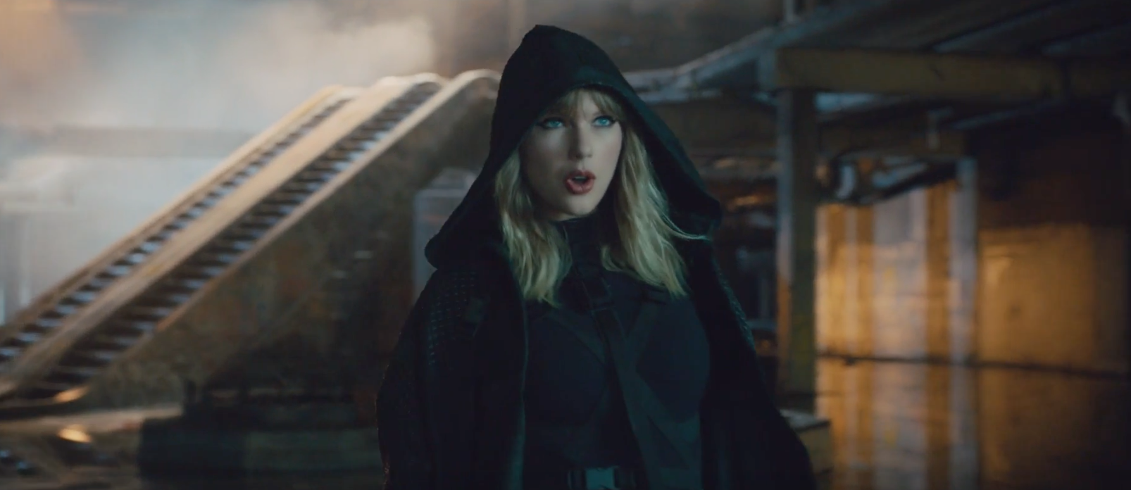 "Where to get a black hooded coat like the one Taylor Swift is wearing in the ""...Ready For It?"" video"