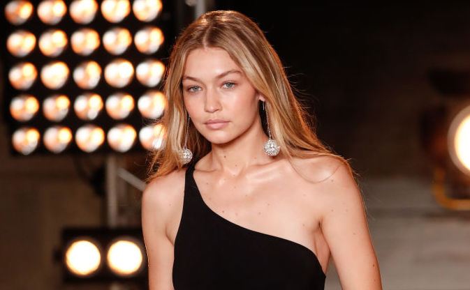 "Gigi Hadid accidentally photobombed a ""Vogue"" photoshoot when she was just 5 years old"