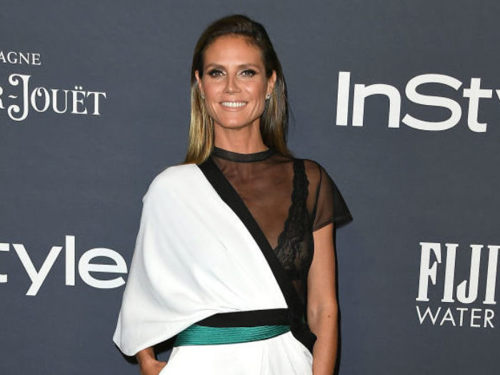 Heidi Klum Dresses as Michael J. Fox's 'Teen Wolf' for Halloween 2017