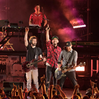 Linkin Park celebrated the life of Chester Bennington with a special tribute concert