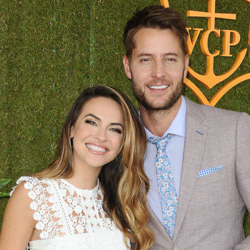 "Congrats to ""This Is Us"" star Justin Hartley on tying the knot with Chrishell Stause!"
