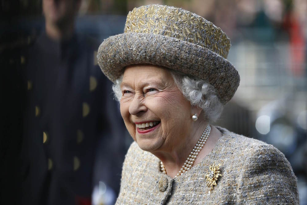 Queen Elizabeth apparently owns McDonald's, and we'd like to order some royal McNuggets, please