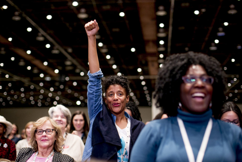 This weekend's Women's Convention is helping thousands of women run for office
