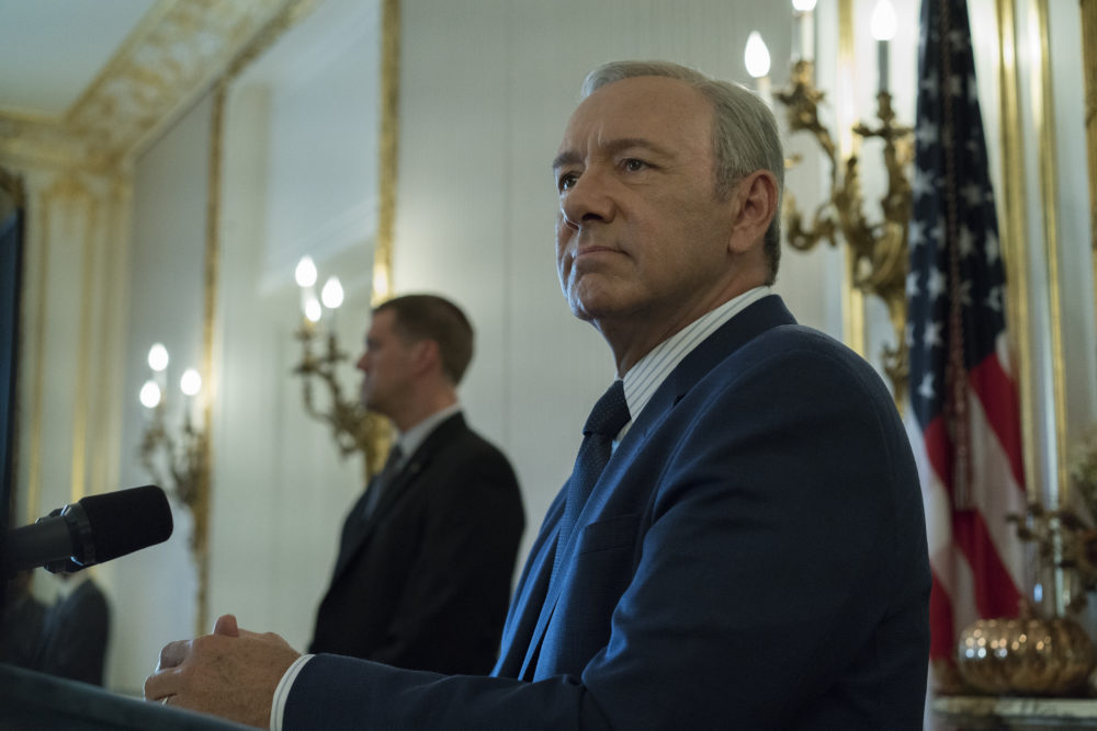 "Well this is super awkward, but Netflix just announced they're ending ""House of Cards"""