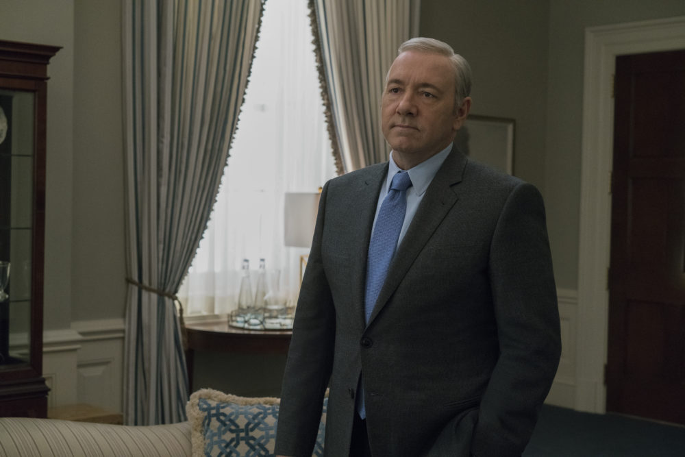 Netflix's response to the allegations against Kevin Spacey is harsh AF, as it should be