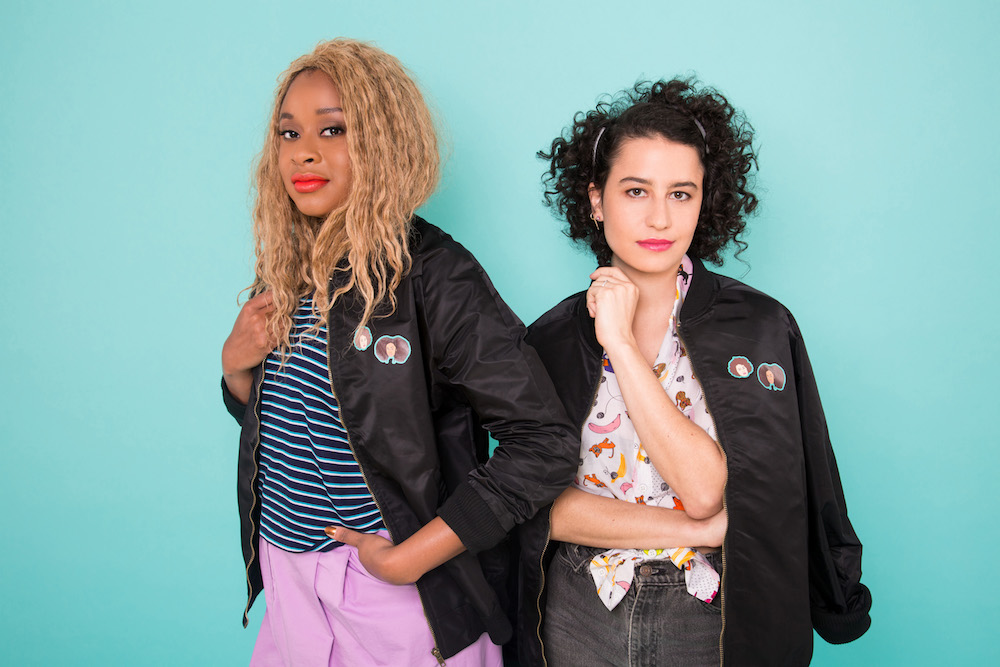 """Broad City's"" Ilana Glazer teamed up with Wildfang on a quirky, cute collection"