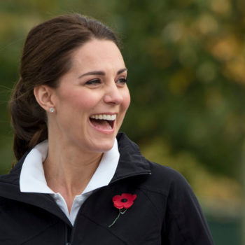 Here's Kate Middleton playing tennis while pregnant, so she's clearly feeling better