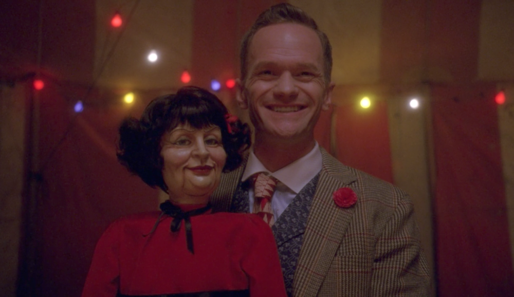 "Neil Patrick Harris's family dressed up as ""American Horror Story: Freak Show"" for Halloween"