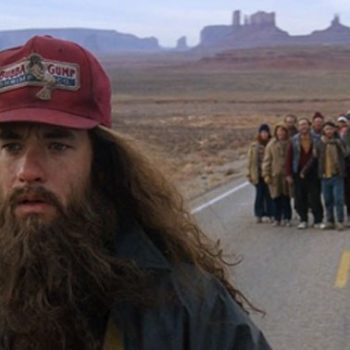 This Forrest Gump impersonator is running around California making residents smile