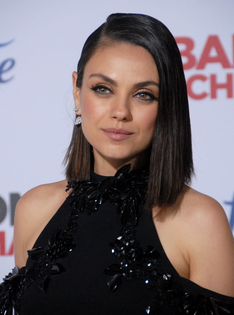 Mila Kunis Looks Like She Shaved Half Her Head With This